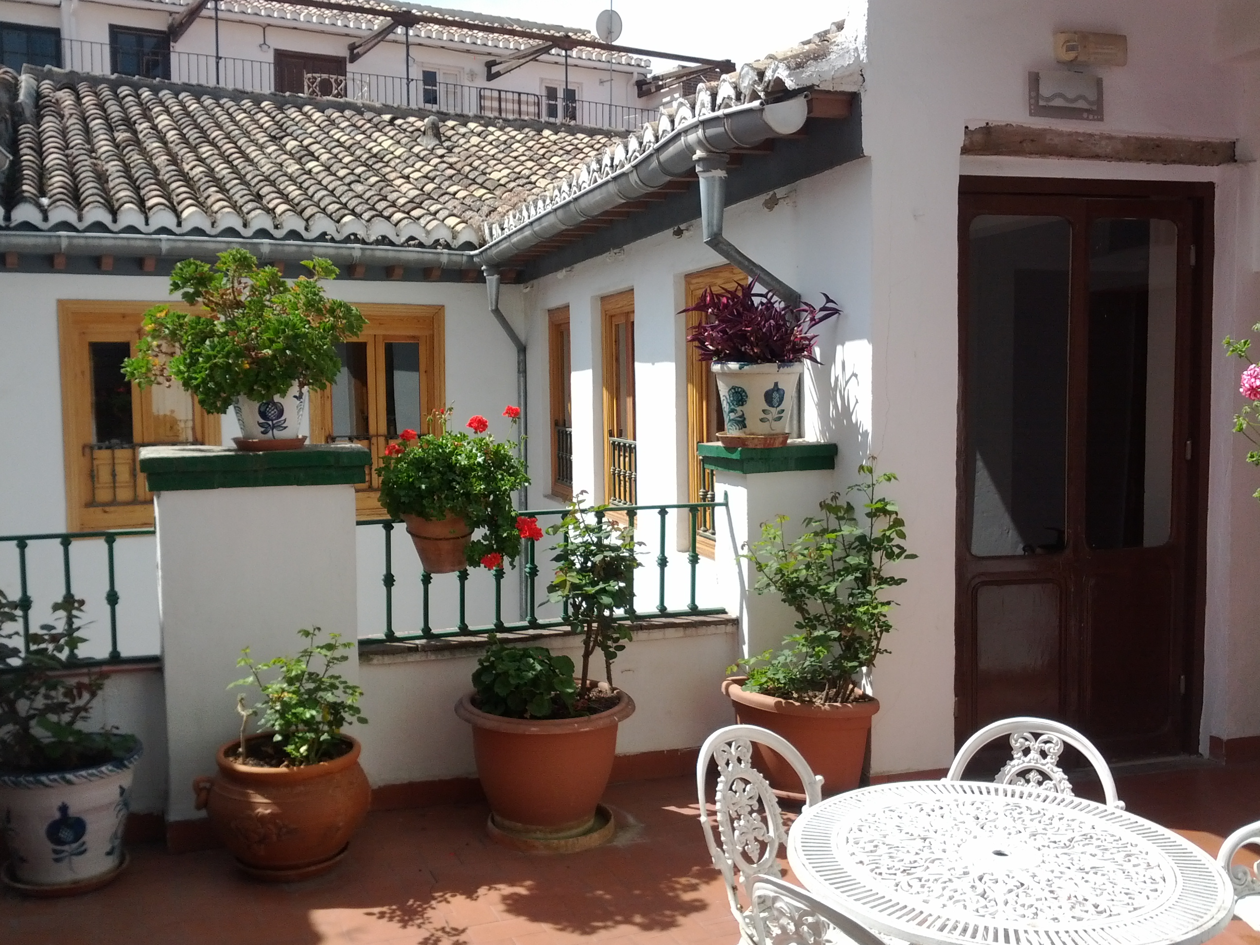 Foto: Terraza Pensión San Joaquín