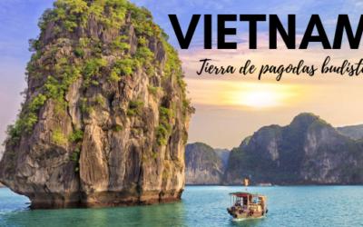 Vietnam, tierra de pagodas budistas.