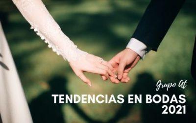 Tendencias en bodas 2021