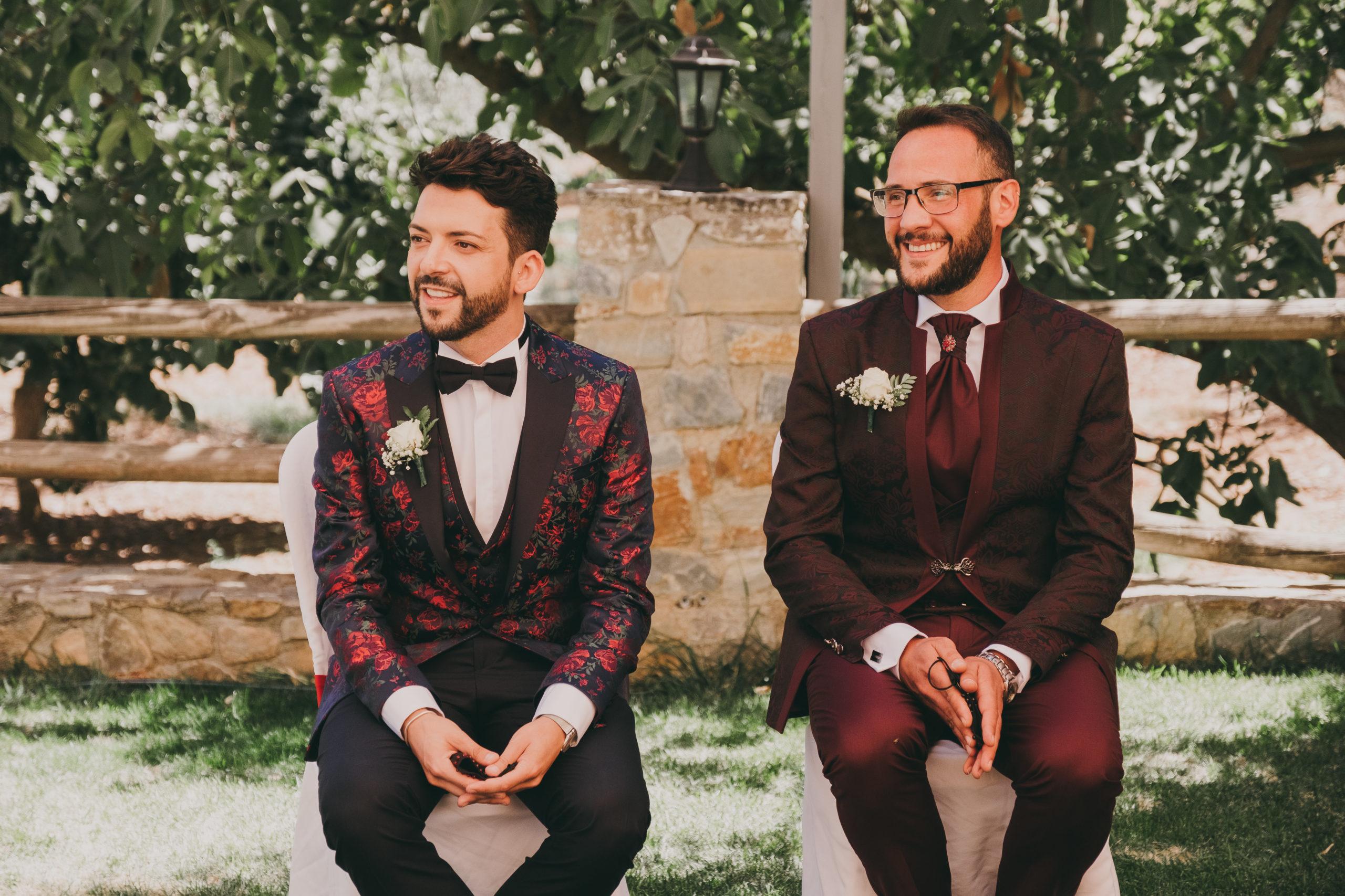 Ceremonia al aire libre de Óliver y Miguel. Foto by Love Wanderers